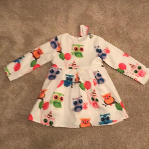 patpat Other - Adorable Owls long sleeve dress for toddler girl